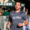Cal Poly baseball hosted a fall game against UCSB at Baggett Stadium in San Luis Obispo, CA. Photo by Owen Main 11/2/19