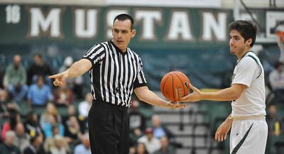 Cal Poly Men's Basketball vs Hawai'i. The Mustangs won  77-65. Jan. 9, 2014. Photo by Ian Billings