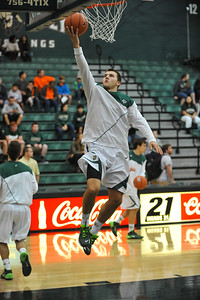 Cal Poly Men's Basketball takes on Nevada. November 12, 2013. Photo by Ian Billings.