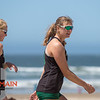 Cal Poly Beach Volleyball hosted San Jose State on Friday, April 20, 2018 at Pismo Beach, CA.<br /> <br /> Photo by Owen Main / Fansmanship.com