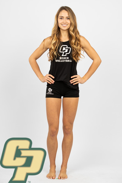 Cal Poly Beach Volleyball Marketing Photos 2019-20