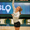 Cal Poly hosted UC Irene in a  Big West Conference match at Mott Athletics Center. Photo by Owen Main. 10/30/18