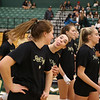 Cal Poly Volleyball hosted Cal State Fullerton at Mott Athletics Center in San Luis Obispo, CA. Photo by Owen Main 11/23/19