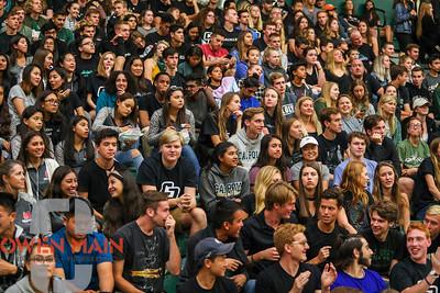 Cal Poly volleyball played Hawai'i at Mott Athletics Center. 10/6/18  Photo by Owen Main