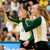 Cal Poly Volleyball hosted UC Davis at Mott Athletics Center on September 18, 2018 9/18/18<br /> <br /> Photo by Owen Main