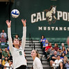 #22 Cal Poly hosted #9UCLA at Mott Athletics Center in San Luis Obispo. 9/6/187:56:32 PM <br /> <br /> Photo by Owen Main