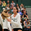 #22 Cal Poly hosted #9UCLA at Mott Athletics Center in San Luis Obispo. 9/6/187:56:38 PM <br /> <br /> Photo by Owen Main