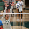 #22 Cal Poly hosted #9UCLA at Mott Athletics Center in San Luis Obispo. 9/6/186:51:45 PM <br /> <br /> Photo by Owen Main