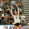 #22 Cal Poly hosted #9UCLA at Mott Athletics Center in San Luis Obispo. 9/6/187:13:48 PM <br /> <br /> Photo by Owen Main