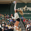 #22 Cal Poly hosted #9UCLA at Mott Athletics Center in San Luis Obispo. 9/6/187:00:56 PM <br /> <br /> Photo by Owen Main