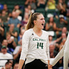#22 Cal Poly hosted #9UCLA at Mott Athletics Center in San Luis Obispo. 9/6/187:55:29 PM <br /> <br /> Photo by Owen Main