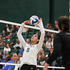 #22 Cal Poly hosted #9UCLA at Mott Athletics Center in San Luis Obispo. 9/6/187:42:25 PM <br /> <br /> Photo by Owen Main