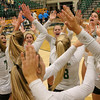 #22 Cal Poly hosted #9UCLA at Mott Athletics Center in San Luis Obispo. 9/6/188:56:53 PM <br /> <br /> Photo by Owen Main