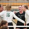 #22 Cal Poly hosted #9UCLA at Mott Athletics Center in San Luis Obispo. 9/6/187:19:47 PM <br /> <br /> Photo by Owen Main