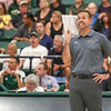 #22 Cal Poly hosted #9UCLA at Mott Athletics Center in San Luis Obispo. 9/6/187:44:21 PM <br /> <br /> Photo by Owen Main