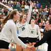 #22 Cal Poly hosted #9UCLA at Mott Athletics Center in San Luis Obispo. 9/6/187:36:00 PM <br /> <br /> Photo by Owen Main