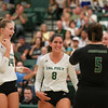 #22 Cal Poly hosted #9UCLA at Mott Athletics Center in San Luis Obispo. 9/6/187:40:12 PM <br /> <br /> Photo by Owen Main