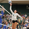 #22 Cal Poly hosted #9UCLA at Mott Athletics Center in San Luis Obispo. 9/6/186:59:39 PM <br /> <br /> Photo by Owen Main