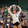 #22 Cal Poly hosted #9UCLA at Mott Athletics Center in San Luis Obispo. 9/6/186:59:24 PM <br /> <br /> Photo by Owen Main