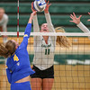 #22 Cal Poly hosted #9UCLA at Mott Athletics Center in San Luis Obispo. 9/6/186:52:53 PM <br /> <br /> Photo by Owen Main