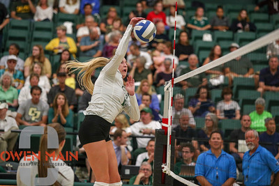 #22 Cal Poly hosted #9UCLA at Mott Athletics Center in San Luis Obispo. 9/6/185:57:48 PM   Photo by Owen Main