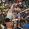 #22 Cal Poly hosted #9UCLA at Mott Athletics Center in San Luis Obispo. 9/6/185:57:48 PM <br /> <br /> Photo by Owen Main