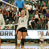 #22 Cal Poly hosted #9UCLA at Mott Athletics Center in San Luis Obispo. 9/6/187:13:50 PM <br /> <br /> Photo by Owen Main