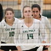 #22 Cal Poly hosted #9UCLA at Mott Athletics Center in San Luis Obispo. 9/6/187:27:38 PM <br /> <br /> Photo by Owen Main