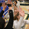 #22 Cal Poly hosted #9UCLA at Mott Athletics Center in San Luis Obispo. 9/6/188:56:44 PM <br /> <br /> Photo by Owen Main