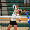 #22 Cal Poly hosted #9UCLA at Mott Athletics Center in San Luis Obispo. 9/6/186:49:21 PM <br /> <br /> Photo by Owen Main
