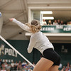 #22 Cal Poly hosted #9UCLA at Mott Athletics Center in San Luis Obispo. 9/6/186:58:54 PM <br /> <br /> Photo by Owen Main
