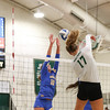 #22 Cal Poly hosted #9UCLA at Mott Athletics Center in San Luis Obispo. 9/6/187:44:04 PM <br /> <br /> Photo by Owen Main