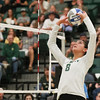 #22 Cal Poly hosted #9UCLA at Mott Athletics Center in San Luis Obispo. 9/6/187:39:17 PM <br /> <br /> Photo by Owen Main