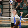 #22 Cal Poly hosted #9UCLA at Mott Athletics Center in San Luis Obispo. 9/6/187:27:24 PM <br /> <br /> Photo by Owen Main