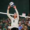 #22 Cal Poly hosted #9UCLA at Mott Athletics Center in San Luis Obispo. 9/6/187:44:31 PM <br /> <br /> Photo by Owen Main