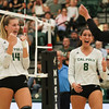 #22 Cal Poly hosted #9UCLA at Mott Athletics Center in San Luis Obispo. 9/6/187:41:35 PM <br /> <br /> Photo by Owen Main