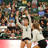 #22 Cal Poly hosted #9UCLA at Mott Athletics Center in San Luis Obispo. 9/6/187:33:57 PM <br /> <br /> Photo by Owen Main