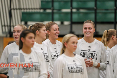 #22 Cal Poly hosted #9UCLA at Mott Athletics Center in San Luis Obispo. 9/6/185:43:41 PM   Photo by Owen Main