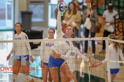 #22 Cal Poly hosted #9UCLA at Mott Athletics Center in San Luis Obispo. 9/6/185:41:22 PM   Photo by Owen Main