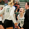 #22 Cal Poly hosted #9UCLA at Mott Athletics Center in San Luis Obispo. 9/6/187:57:15 PM <br /> <br /> Photo by Owen Main