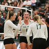 #22 Cal Poly hosted #9UCLA at Mott Athletics Center in San Luis Obispo. 9/6/187:39:20 PM <br /> <br /> Photo by Owen Main