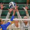 #22 Cal Poly hosted #9UCLA at Mott Athletics Center in San Luis Obispo. 9/6/186:47:48 PM <br /> <br /> Photo by Owen Main
