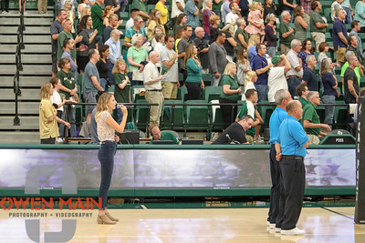 #22 Cal Poly hosted #9UCLA at Mott Athletics Center in San Luis Obispo. 9/6/186:02:07 PM   Photo by Owen Main