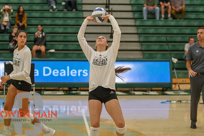 #22 Cal Poly hosted #9UCLA at Mott Athletics Center in San Luis Obispo. 9/6/185:36:45 PM   Photo by Owen Main