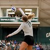 #22 Cal Poly hosted #9UCLA at Mott Athletics Center in San Luis Obispo. 9/6/187:48:11 PM <br /> <br /> Photo by Owen Main