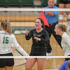 #22 Cal Poly hosted #9UCLA at Mott Athletics Center in San Luis Obispo. 9/6/187:19:46 PM <br /> <br /> Photo by Owen Main
