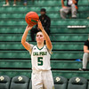 Cal Poly women's basketball hosted Academy of Art for their season opener at Mott Athletics Center. Photo by Owen Main. 11/6/18