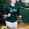 Cal Poly women's basketball hosted CSUN on senior day at Mott Athletics Center in San Luis Obispo, CA. Photo by Owen Main 2/29/20
