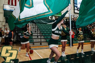 Cal Poly women's basketball hosted CSUN on senior day at Mott Athletics Center in San Luis Obispo, CA. Photo by Owen Main 2/29/20