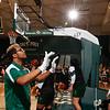 Cal Poly Women's Basketball hosted Hawai'i at Mott Athletics Center.  Photo by Owen Main 2/6/20